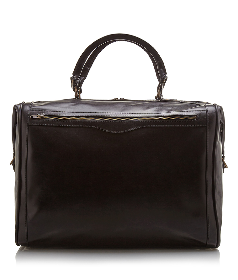 Jenny Schwarz: Canyon bag- black cowhide leather weekend bag | Bags -  Hiphunters Shop